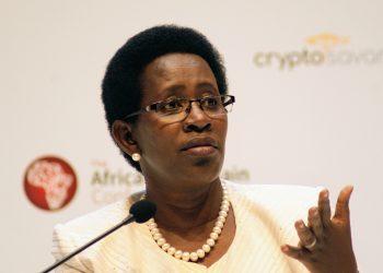 Health Ministry Permanent Secretary, Dr Diana Atwine