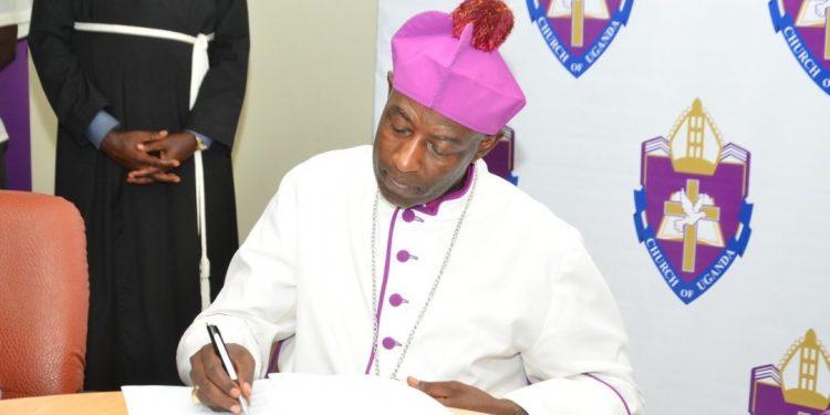 The new Archbishop of the Anglican Church of Uganda, His Grace Stephen Kazimba Mugalu.