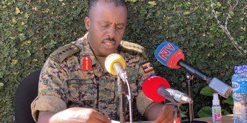 Commander of Defence Forces (CDF), Gen David Muhoozi. COURTESY PHOTO.