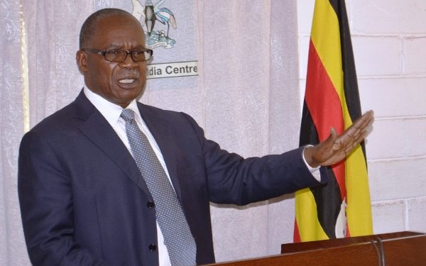 Minister for Public Service Muruli Mukasa. COURTESY PHOTO.