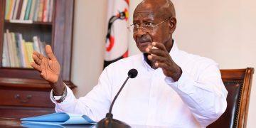 President of the Republic of Uganda Yoweri Kaguta Museveni.