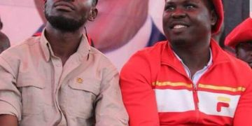 Bobi Wine and Zaake.