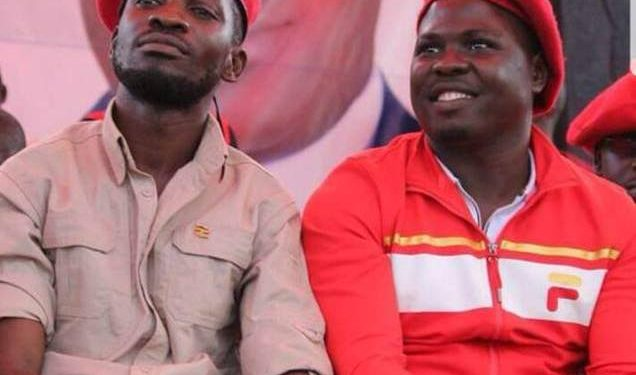 Bobi Wine and Zaake.
