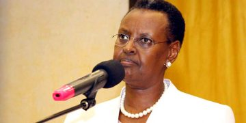 Minister of Education and Sports Janet Museveni.