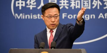 Zhao Lijian, Spokesperson of Chinese Foreign Ministry
