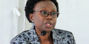 Minister of Health Dr Jane Ruth Aceng.