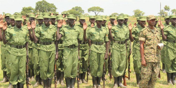 Local Defence Unit (LDU) officers.