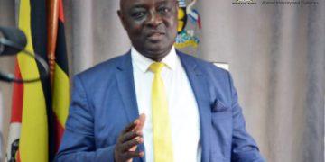 Hon. Vincent Ssempijja, Minister of Agriculture.