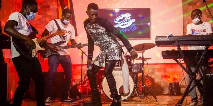 Jose Chameleone on performing in a live online show.
