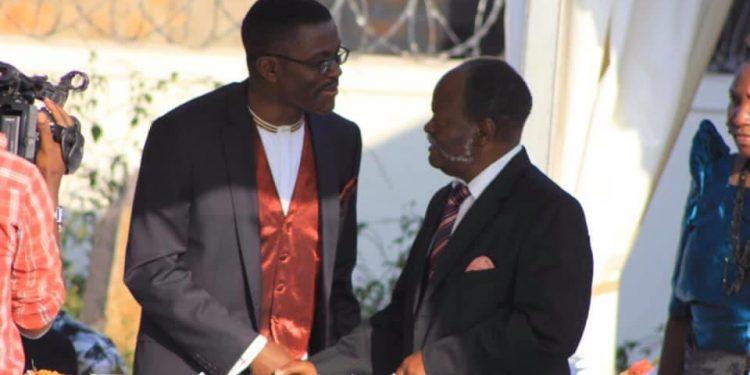Photos of guests at 'Embaga ya Ddamula' in June 2013 at Katikkiro Mayiga's private residence in Lweza.