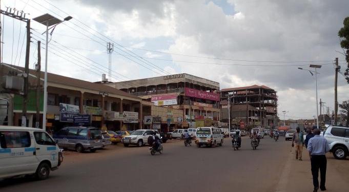 As you are approaching Masitoowa in Nansana. COURTESY PHOTO.