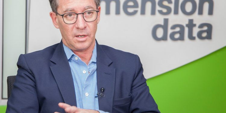 Dimension Data East and West Africa Managing Director Richard Hechle.