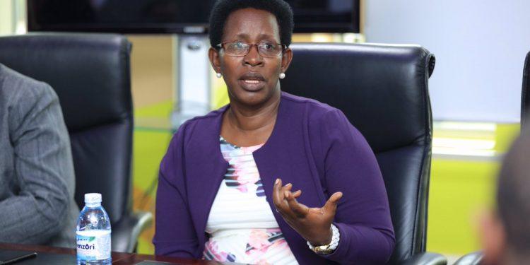 Dr Diana Atwine, Permanent Secretary, Ministry of Health. COURTESY PHOTO.