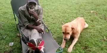 Rtd. Maj. Gen. Kasirye Ggwanga's best friend was his dog.