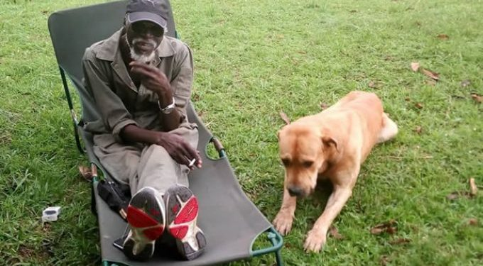 Rtd. Maj. Gen. Kasirye Ggwanga's best friend was his dog.