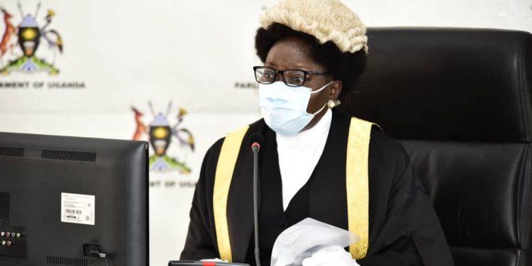 Speaker of Parliament Rt Hon Rebecca Kadaga.