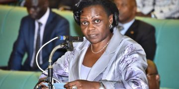 State Minister for Energy and Mineral Development Sarah Opendi.