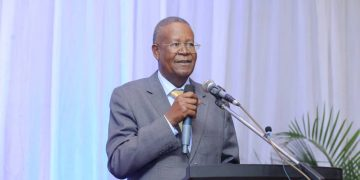 Ephraim Kamuntu, Minister of Justice and Constitutional Affairs. COURTESY PHOTO.