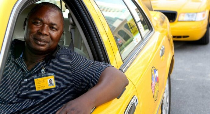 """Dingaonaikoro """"Nick"""" Neasseyoaant immigrated from Chad to the United States in 1993 and has worked as a cab driver in San Antonio for 15 years. The job has helped him put his children, who remain in Africa, through college."""