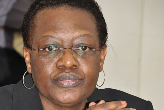 Inspector General of Government (IGG) Justice Irene Mulyagonja when they appeared before legal committee to present their budget at Parliment. Photo by Geoffrey Sseruyanghe